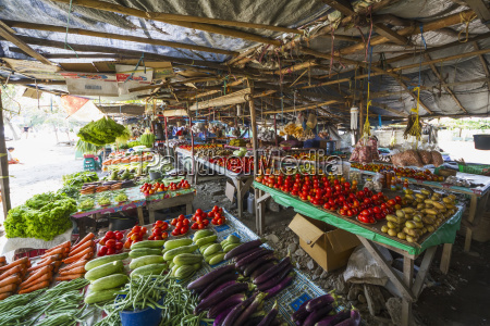 produce for sale at the largo