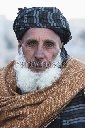 old pashtun man in sarobi kabul