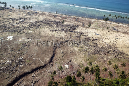 flying over areas of damage as