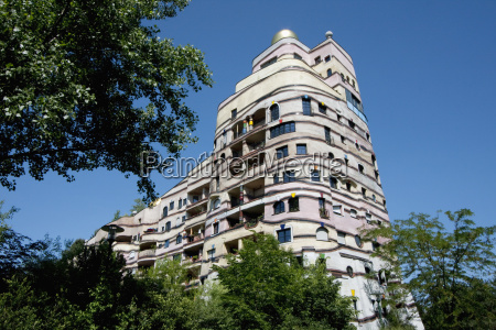 low angle view of a waldspirale