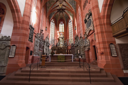 main altar of the collegiate church