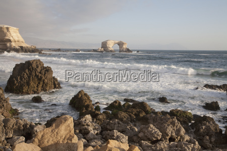 the natural monument of la portada