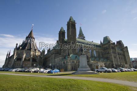 centre block of the parliament buildings