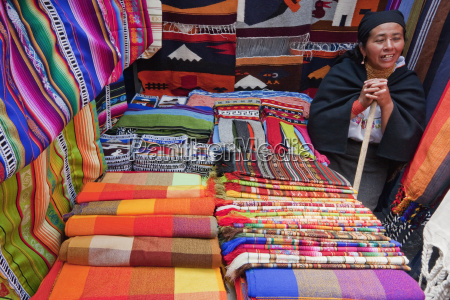 andean textiles for sale at the