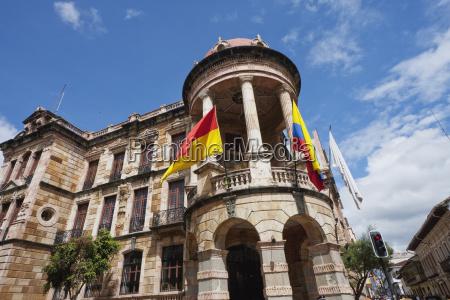 city hall cuenca azuay ecuador