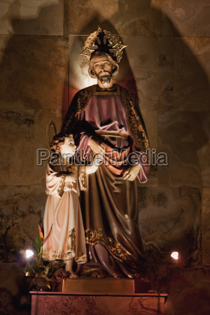 christ statue in the el sagrario