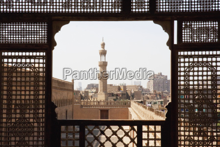 ibn tulun mosque as seen through