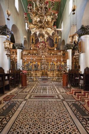 iconostasis inside the great basilica of