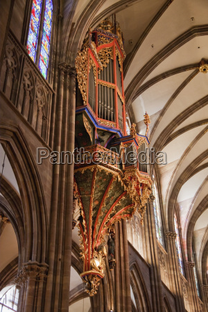 organ in the cathedral of our