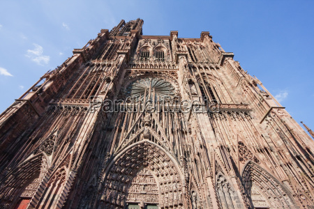 western facade of the notre dame