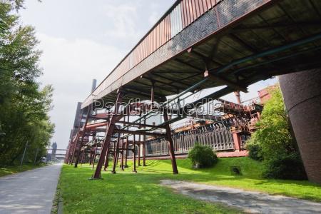 conveyor and coke furnaces of the