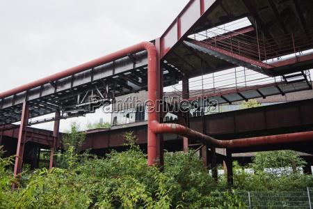 shaft 128 in the zollverein coal