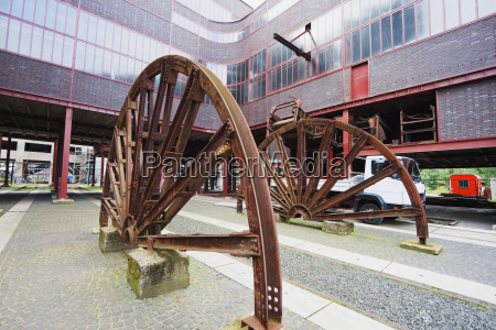 wheel in the circulating plant of