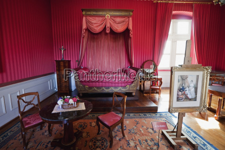 louis philippe bedchamber in the chateau