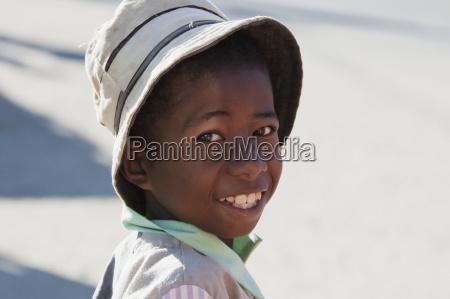 boy in ranohira fianarantsoa province madagascar