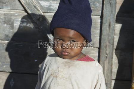 girl in ranohira fianarantsoa province madagascar