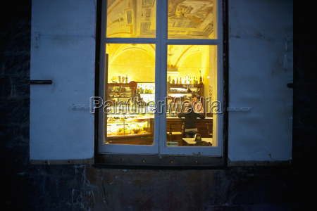 view through the window of a