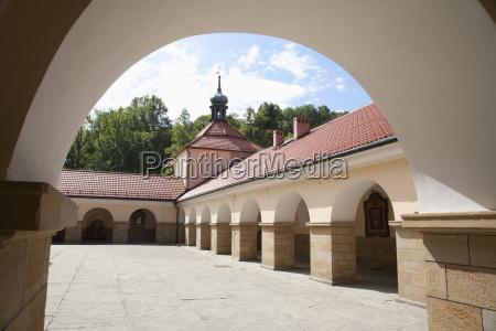 monastic quarters at the basilica of