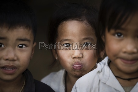 portrait of young boys luang prabang