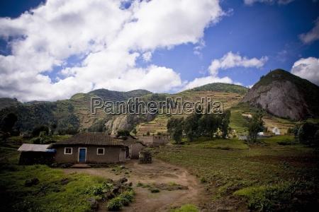 view of a house rwanda africa