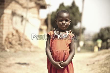 young ugandan girl kampala uganda africa