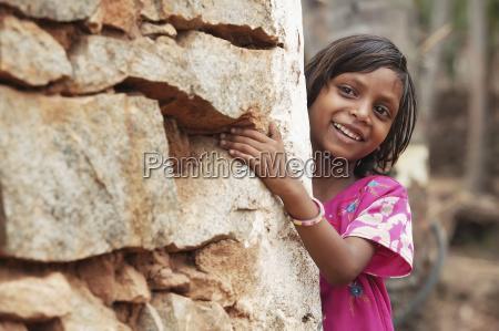 portrait of a young girl bangsa