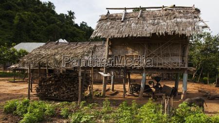 lanten food storage luang namtha laos