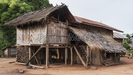 lanten woven bamboo home luang namtha
