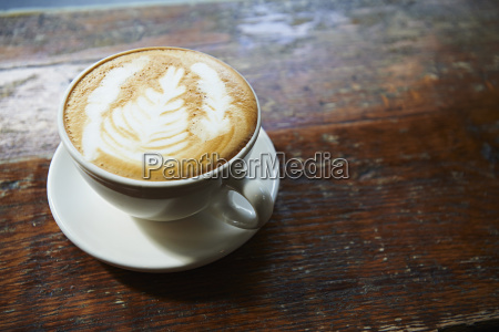 latte in lower east side coffee
