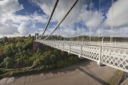 clifton suspension bridge bristol england