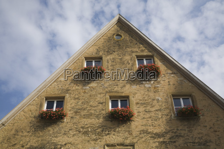 old architectural style building facade and