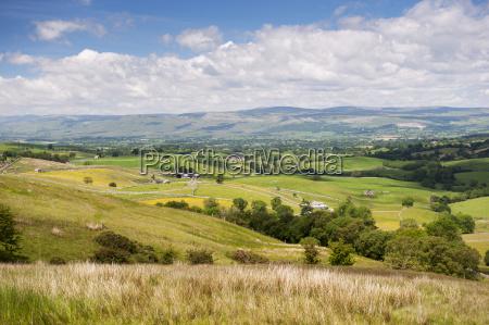 looking over the upper eden valley
