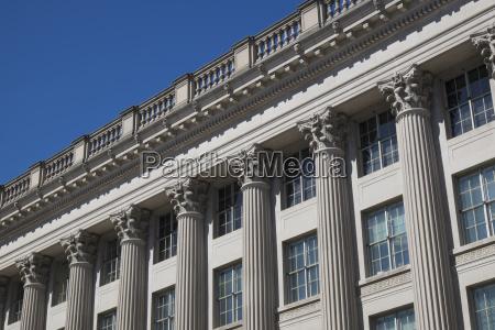 blau fahrt reisen architektonisch farbe amerikanisch