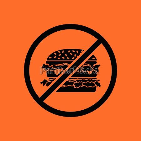 prohibited hamburger icon