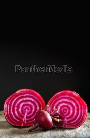 close up of a cut red
