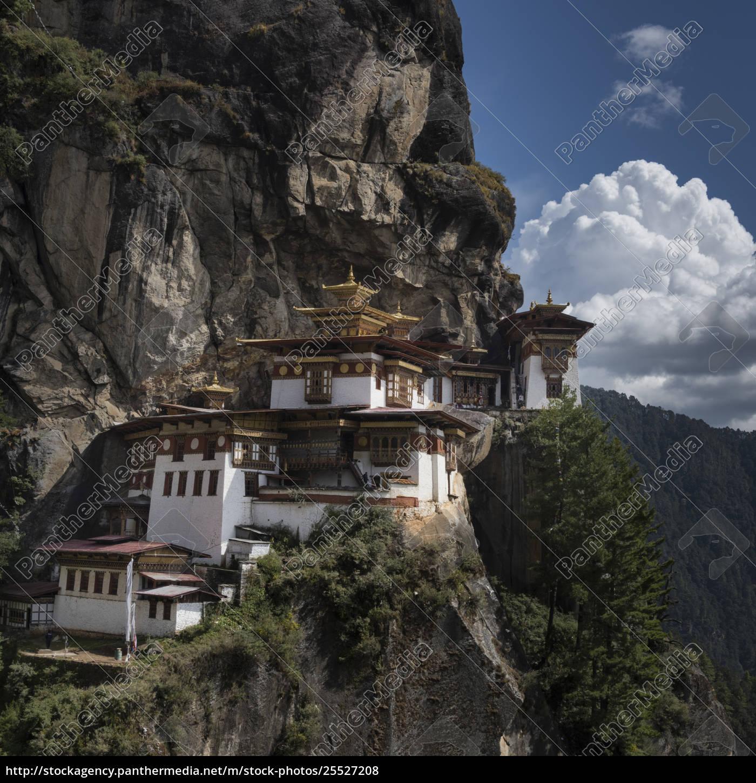 taktsang, palphug, kloster, (tigernest);, paro - 25527208