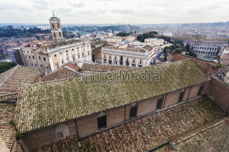 view of a roof basilica of