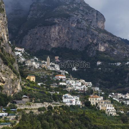 houses along the amalfi coast amalfi