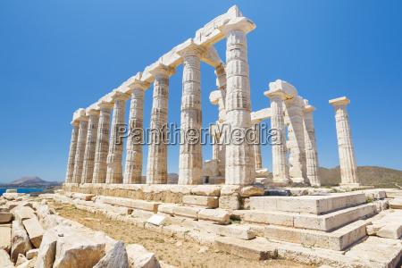 greek temple ruins temple of poseidon