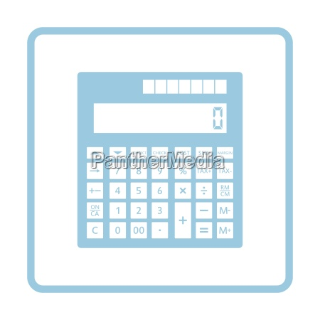 statistical calculator icon