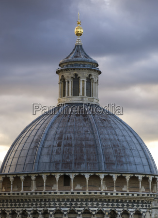 dome roof of siena cathedral siena