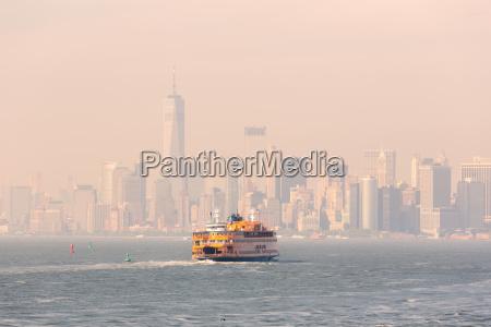 staten island ferry und lower manhattan