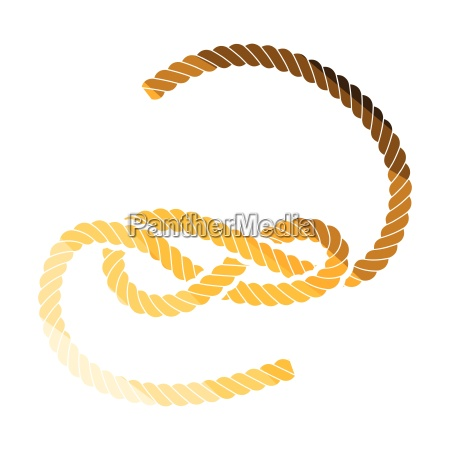 knoted rope icon