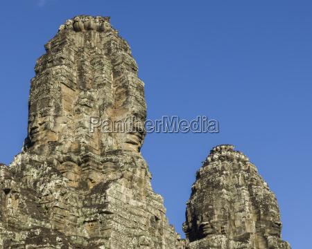 bayon temple angkor thom angkor archeological