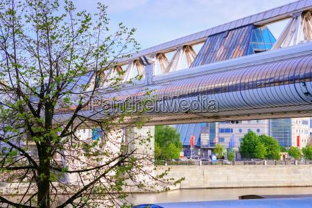 bruecke steg baustil architektur baukunst fussgaenger