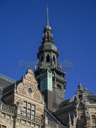 blau turm fahrt reisen architektonisch historisch