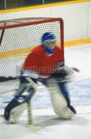 hockey goalie machen sparen