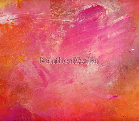 pink malerei leinwand hobby