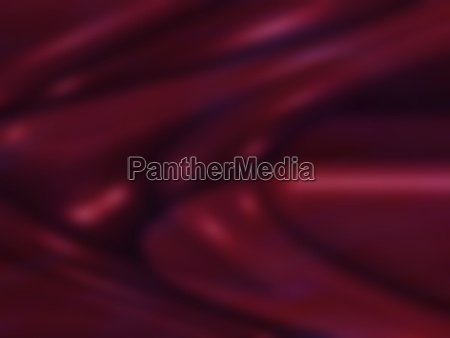 swirls and curves of wine red