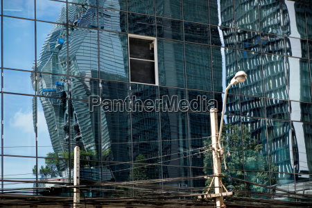 stadt beton metall fassade baustil architektur